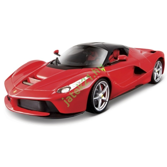 Bburago Ferrari LaFerrari versenyautó 1:18