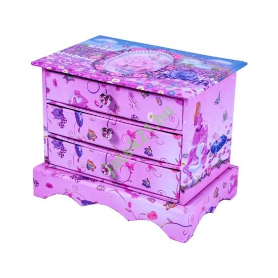 Fiókos tárolódoboz, hercegnős -UK-036-